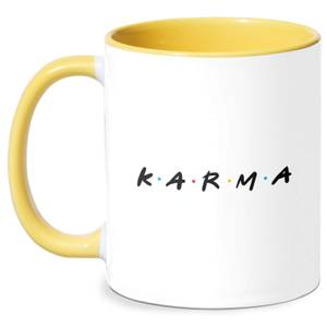 Karma Mug - White/Yellow