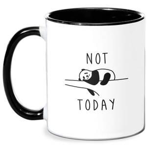Not Today Mug - White/Black