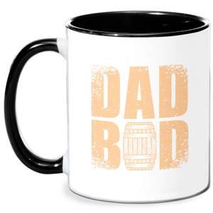 Dad Bod Mug - White/Black