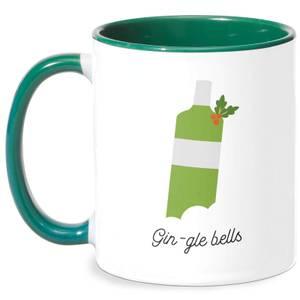 Gin-gle Bells Mug - White/Green
