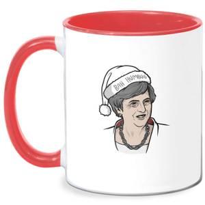 Christmas Means Christmas Mug - White/Red