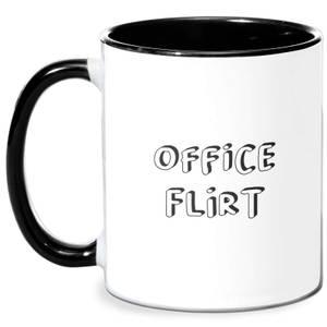 Office Flirt Mug - White/Black