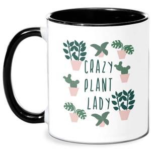 Crazy Plant Lady Mug - White/Black
