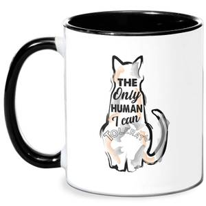 Only Person I Can Tolerate Mug - White/Black