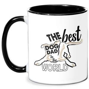 Dog Dad Mug - White/Black