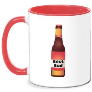 Best Bud Mug - White/Red