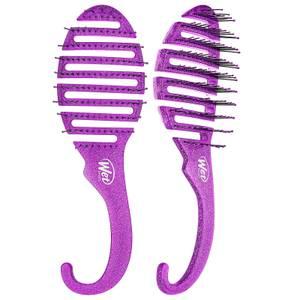 WetBrush Shower Glitter Detangler Brush - Purple