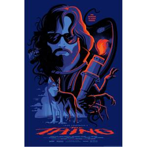 The Thing Screenprint by Tom Whalen - Variant