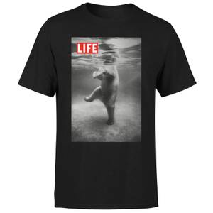 LIFE Magazine Polar Bear Men's T-Shirt - Black