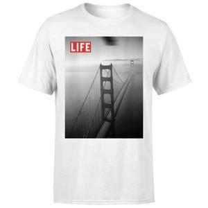 LIFE Magazine Golden Gate Bridge Men's T-Shirt - White