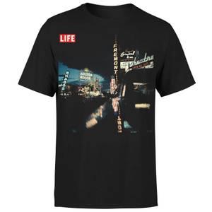 LIFE Magazine Night Life Men's T-Shirt - Black