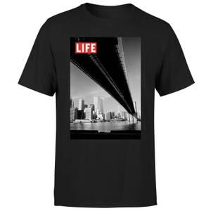 LIFE Magazine Bridge Men's T-Shirt - Black