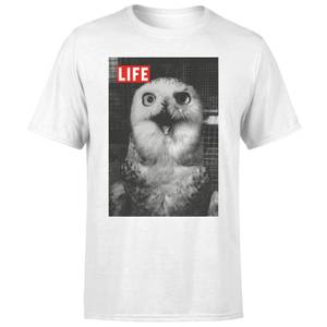 LIFE Magazine Owl Men's T-Shirt - White