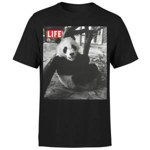 LIFE Magazine Panda Men's T-Shirt - Black