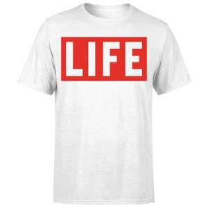 LIFE Magazine LIFE Logo Men's T-Shirt - White