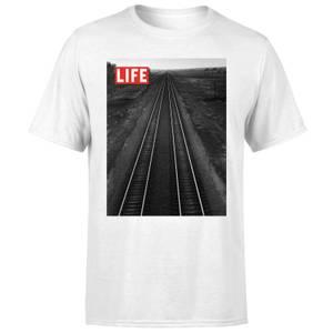 LIFE Magazine Railway Men's T-Shirt - White