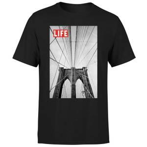 LIFE Magazine City Bridge Men's T-Shirt - Black