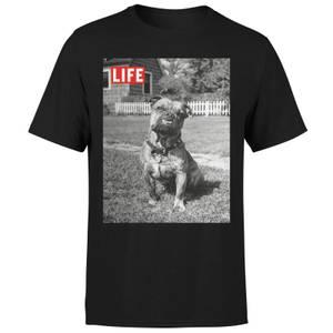 LIFE Magazine Dog Men's T-Shirt - Black