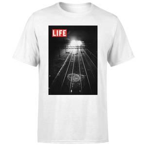 LIFE Magazine Railway Tracks Men's T-Shirt - White