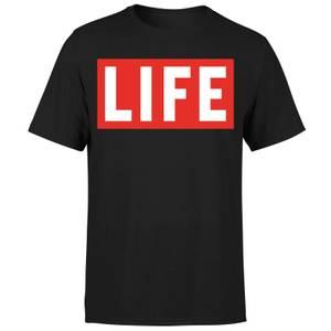 LIFE Magazine LIFE Logo Men's T-Shirt - Black