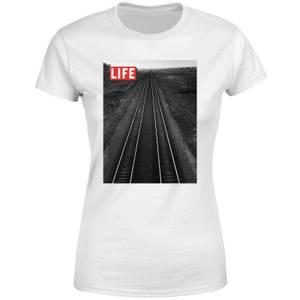 LIFE Magazine Railway Women's T-Shirt - White