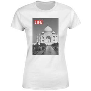 LIFE Magazine Taj Mahal Women's T-Shirt - White