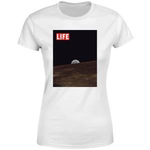 LIFE Magazine Moon Women's T-Shirt - White