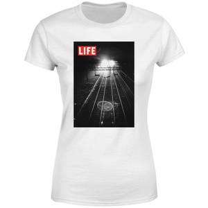 LIFE Magazine Railway Tracks Women's T-Shirt - White