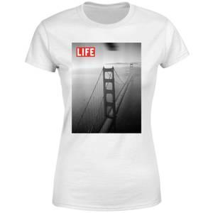 LIFE Magazine Golden Gate Bridge Women's T-Shirt - White