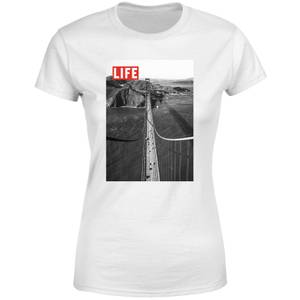 LIFE Magazine Bridge Women's T-Shirt - White
