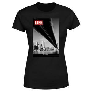 LIFE Magazine Bridge Women's T-Shirt - Black