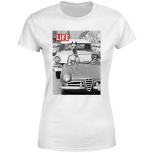 LIFE Magazine Dog In A Car Women's T-Shirt - White