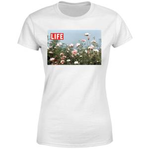 LIFE Magazine Flower Field Women's T-Shirt - White