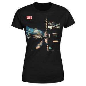 LIFE Magazine Night Life Women's T-Shirt - Black