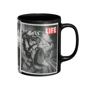 LIFE Magazine Animal Tabloid Mug - Black