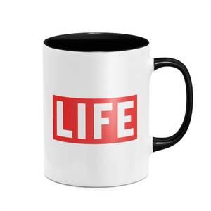 LIFE Magazine LIFE Logo Mug - Black