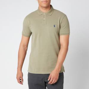 Polo Ralph Lauren Men's Slim Fit Mesh Polo Shirt - Sage Green