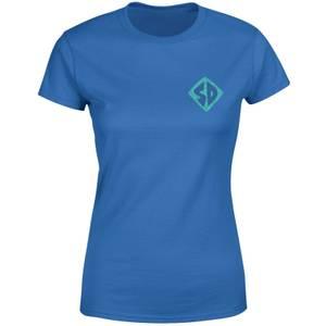 Scooby-Doo Logo Women's T-Shirt - Royal Blue