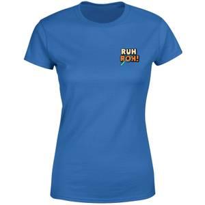 Ruh-Roh! Pocket Women's T-Shirt - Royal Blue