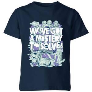We've Got A Mystery To Solve! Kids' T-Shirt - Navy