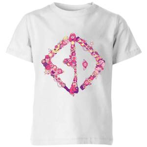 Scooby-Doo Floral Kids' T-Shirt - White