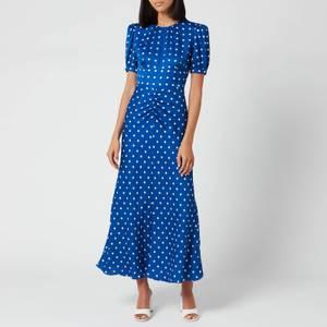 Self-Portrait Women's Polka Dot Midi Dress - Multi