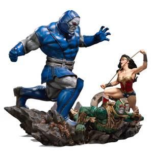 Iron Studios DC Comics Diorama 1/6 Wonder Woman Vs Darkseid by Ivan Reis 54 cm