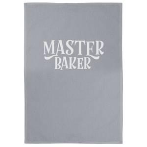 Master Baker Cotton Grey Tea Towel