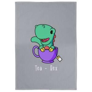 Tea - Rex Cotton Grey Tea Towel
