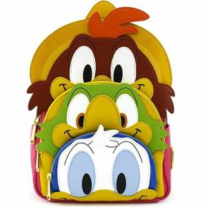 Loungefly Disney Three Caballeros Mini Backpack