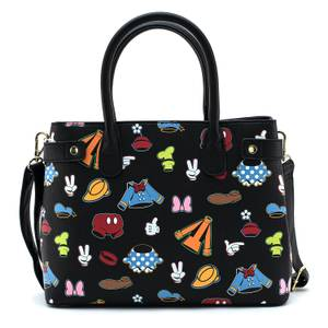 Loungefly Disney Sensational 6 Aop Outfits Crossbody