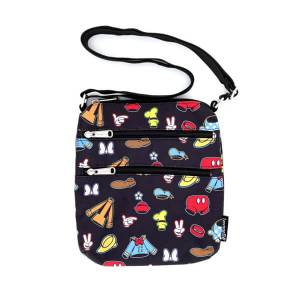 Loungefly Disney Sensational 6 Aop Outfits Nylon Passport Bag