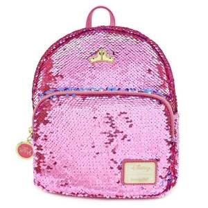 Loungefly Disney Sleeping Beauty Reversible Sequin Mini Backpack