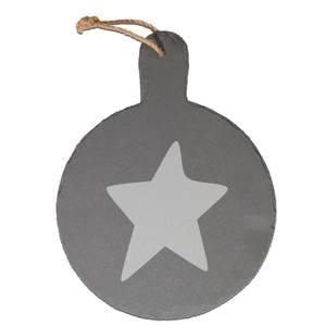 Star Engraved Slate Cheese Board